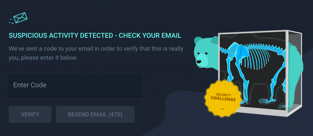 Lootbear account authorization